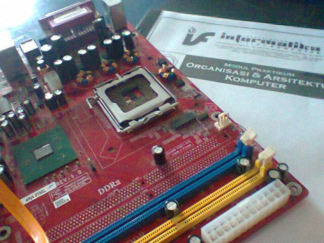 bongkar pasang processor